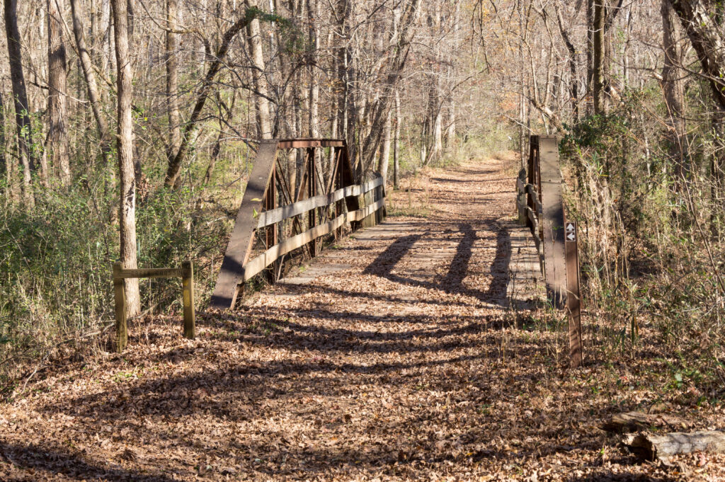 Fosters Mill Trail Loop bridge