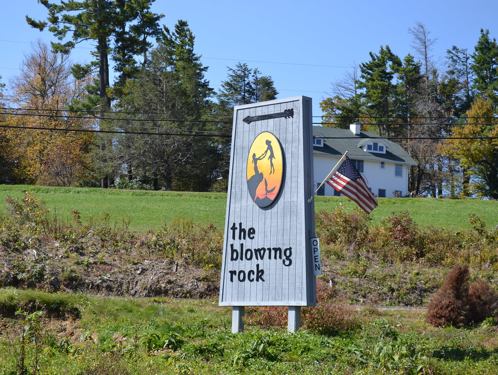 blowing rock nc sign
